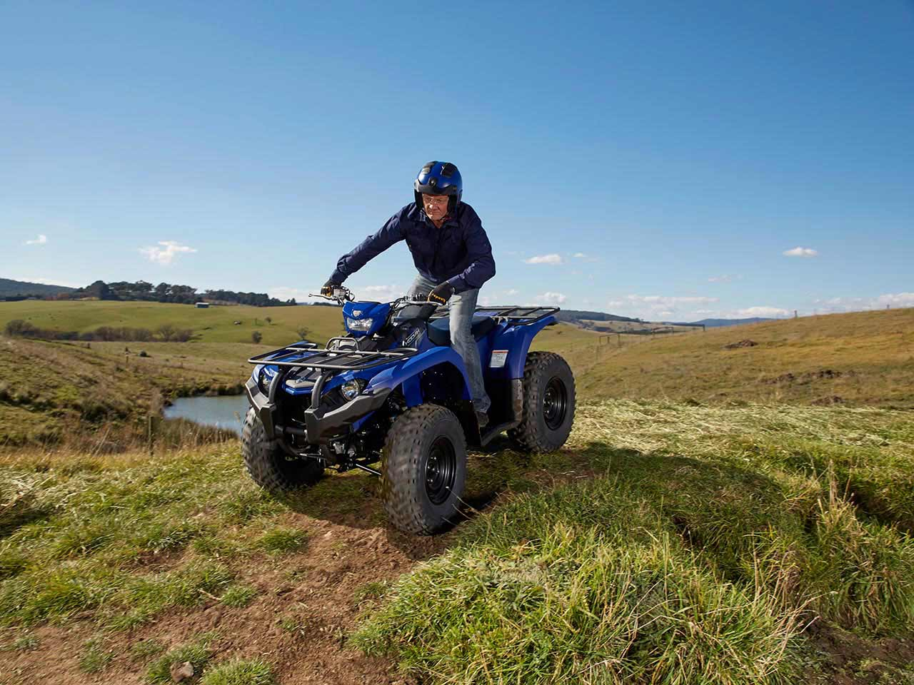 2020 Yamaha Kodiak 450 EPS Gallery 3