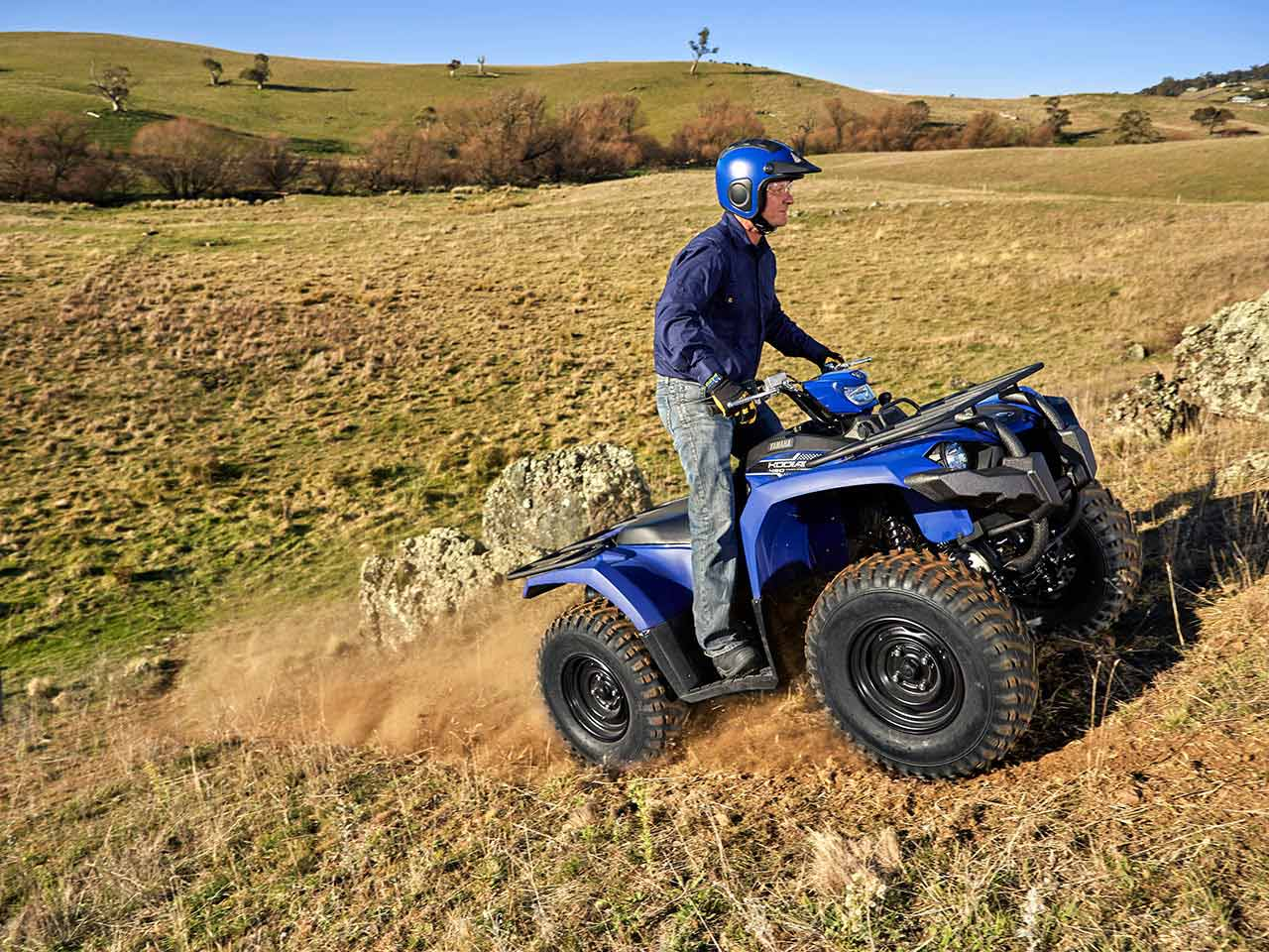 2020 Yamaha Kodiak 450 EPS Gallery 4